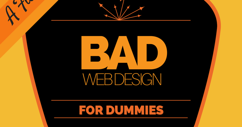 Daly Marketing, Bad Web Design Guide