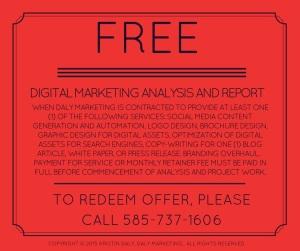 Inbound marketing, traditional media marketing, PR, branding, Rochester NY